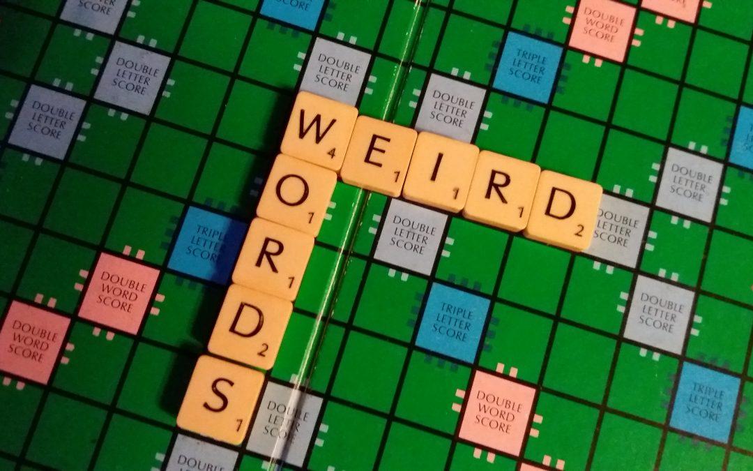 Weird Words of the Week #1 – 4